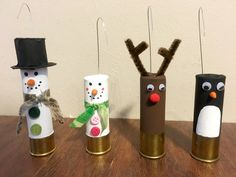 Shotgun Shell Ornaments by SomethingOuttaNothin on Etsy
