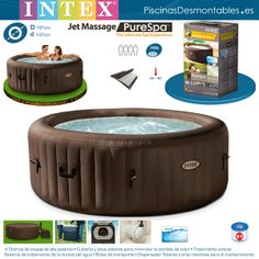 1000 images about jacuzzis hottubs on pinterest jacuzzi outlets and sons - Piscina jacuzzi hinchable ...