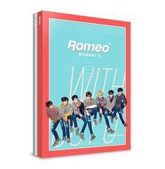 "ROMEO 4th Mini Album ""WITHOUT U"" Day Ver. K_POP CD+Photobook+Postcard+Poster #Pop"