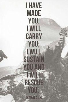 I know He will.... I know....