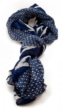Beach Chevron Scarf, Navy by Alyssa Lee This was the best scarf I've ever purchased. So much scarf love. Love Blue, Blue And White, Color Blue, Dark Blue, Chevron Scarves, Mood Indigo, Indigo Blue, Kenzo, My Wardrobe