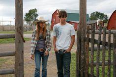"Heartland photos   Amber Marshall and Graham Wardle in ""Heartland"""