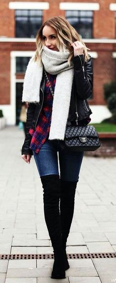 Must Wear Fall Outfits With Boots (1)