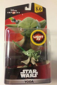 Disney Infinity 3.0 Edition Video Game Star Wars Yoda Light FX Figure #DisneyStarWarsLucasfilmltd