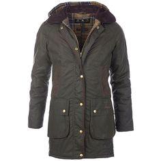 Barbour ladies' winter force parka jacket olive