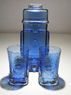 "HELENA TYNELL - ""Maaherra"", Riihimäen Lasi Oy. Glass Room, Glass Art, Glass Design, Design Art, Yves Klein Blue, Tom Of Finland, Vintage Kitchenware, Lassi, Glass Collection"
