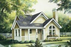 House Plan 57-194- Love this one - no stairs so that would open it to the living