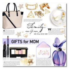"""""""Holiday gifts for mom"""" by dolly-valkyrie ❤ liked on Polyvore featuring H&M, Mariah Carey and holidaygiftformom"""