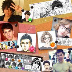 Winners transformed!  feel like having your own Japanese manga portrait now?