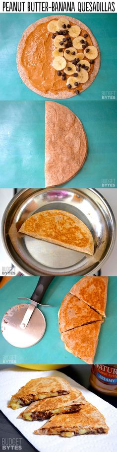 Peanut Butter Banana Quesadillas - 29 Lifechanging Quesadillas You Need To Know About