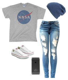 """Untitled #101"" by jessieellenhoran ❤ liked on Polyvore featuring Converse and Phase 3"