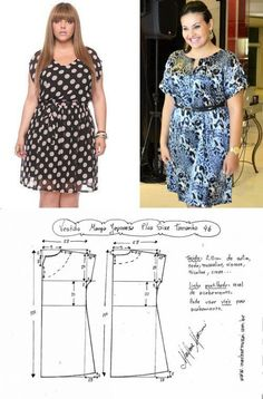 Tremendous Sewing Make Your Own Clothes Ideas. Prodigious Sewing Make Your Own Clothes Ideas. Make Your Own Clothes, Diy Clothes, Dress Sewing Patterns, Clothing Patterns, Costura Fashion, Sewing Blouses, T Dress, Creation Couture, Fashion Sewing