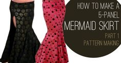 Make an easy mermaid skirt that fits you perfectly! Here is how to make a mermaid skirt pattern on Sparkly Belly. Download a free measurement worksheet here.