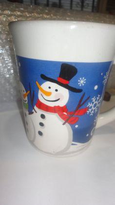 Snowman MugSnow man Mug by PatsapearlsBoutique on Etsy, $8.99