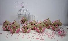 ♥♥♥ Piu, piu, piu... by sweetfelt \ ideias em feltro, via Flickr