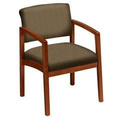 Lesro Designer Upholstery Guest Chair with Arms | NBF.com