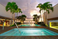 A private Miami residence designed by Antrobus + Ramirez. Photography courtesy of Antrobus + Ramirez.