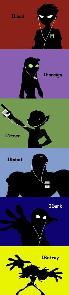 Teen Titans ipod