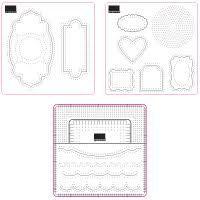 Stampin Up Essentials Paper Piercing templates
