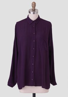 Fields Of Violet Blouse