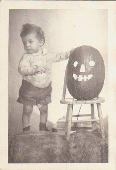 Vintage Pumpkin Cutie Pie