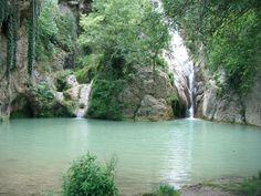 Waterfall in Hotnitsa, Bulgaria