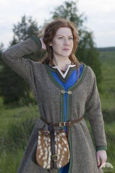 15% DISCOUNT Womens Coat Viking Kaftan Ingrid Woolen by armstreet