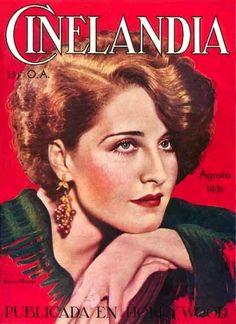 Norma Shearer - Cinelandia - August 1931 Argentina