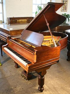 Rosewood, Steinway & Sons Model A Grand Piano at Besbrode Pianos Leeds.