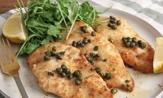 Healthy Chicken Piccata Recipe| Laura in the Kitchen