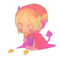 #Haikyuu Little devil Kenma (Twitter: mookie000)