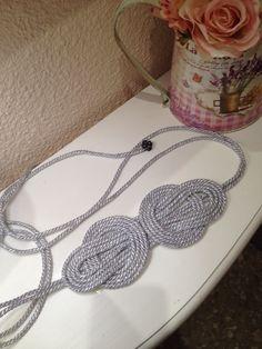 Cinturón plata cruces Girls Accessories, Jewelry Accessories, Fashion Accessories, Diy Belts, Passementerie, Fabric Yarn, Sewing Hacks, Diy Clothes, Diy Fashion