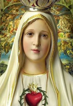 SANTA MARÍA. Our lady of Fatima.