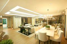 sala de estar / sala de jantar / dining room / living / modern / apartamento decorado / home decor / bohrer arquitetura / interior design
