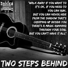 Def Leppard ~ Two Steps Behind