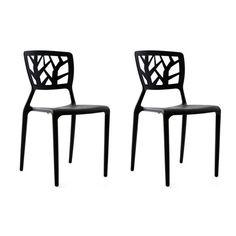 Sobre et élégante, la chaise design KATIA sera parfaite dans un intérieur contemporain. Dotée d'une ligne impeccable et d'un dossier très travaillé, elle sera très facile à assortir et apportera une touche de modernité à une salle à manger. Entièrement en polypropylène très résistant, la chaise design KATIA est empilable afin d'optimiser votre rangement. Très facile d'entretien, un simple chiffon humide suffit afin de la nettoyer. Déclinée en blanc, noir et rouge La chaise...