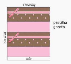 Marrón y Rosa: Etiquetas para Candy Bar para Imprimir Gratis