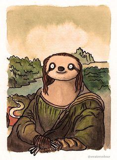 The Mona Slotha - she's slothariffic!