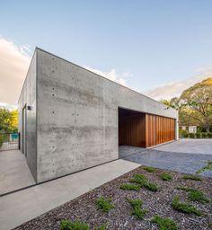Corten and concrete: