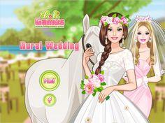 Piękna Barbie wychodzi za mąż! Wesele odbędzie się na spokojnej wsi w tradycyjnym stylu http://www.ubieranki.eu/ubieranki/9771/wiejskie-wesele-barbie.html