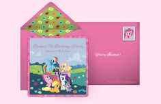 Plan a My Little Pony Friendship Magic Party!