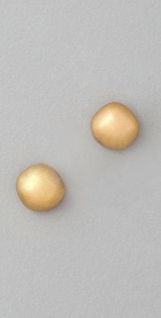 Elizabeth and James  Puck's Garden Mushroom Post Earrings