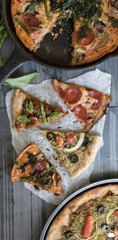 """Our Cauliflower Pizza Crust is proof that healthier pizza doesn't have to take like cardboard. Our Cauliflower Pizza Crust is topped with ooey cheese and yummy toppings like peperoni and savories. The flavor of our Cauliflower Pizza Crust just might make you forget about """"regular"""" pizza."""
