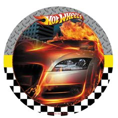 Hot Wheels Free Printable. Festa Hot Wheels para imprimir.