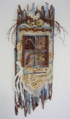 Altered art- feels very beachy to me