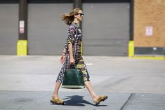 A patterned profile. #refinery29 http://www.refinery29.com/2015/09/93788/ny-fashion-week-spring-2016-street-style-pictures#slide-11