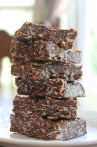 Best-Ever Chocolate Oatmeal No-Bake Bars