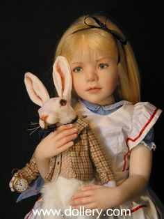 Alice in Wonderland Original Artist Dolls At the Dollery