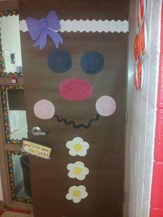 My gingerbread classroom door