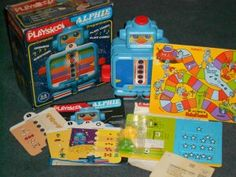 Original 1978 Alphie by Playskool / Hasbro (Educational Learning Electronic Toy)